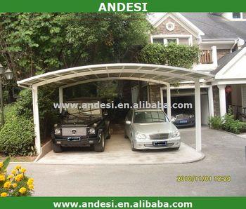 Waterproof Polycarbonate Metal Pergola Car Garage Buy Waterproof