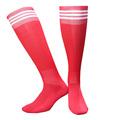 1pair three stripes Sports Breathable Men Stockings Long thin football soccer team Three bars tube socks