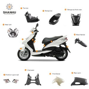 Zhejiang taiwan shanghai vietnam cnc scooter gy6 plastic body parts for  mini 49cc motorcycle