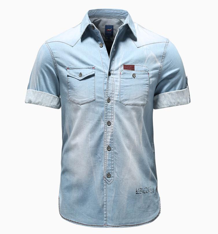 95bef458e0 China Wash Jeans Shirt