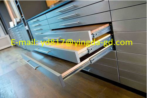 China Supplier Invisible Drawer Slide Rails Have Passed 24 hours Salt Spray Test