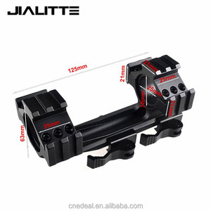 Jialitte Quick Detachable 25/30mm Scope Ring Telescopic Sights Gun Mount 30mm RifleScope Ring Low Mounts Weaver Rail J057
