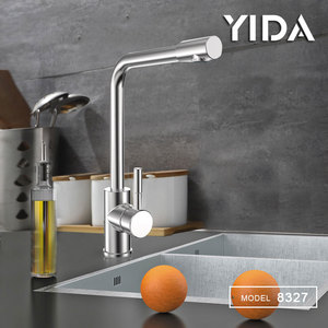 Commercial Single Handle Cold Water Kitchen Sink Mixer Faucet Modern Shower Water Ways Kitchen Tap For Washing