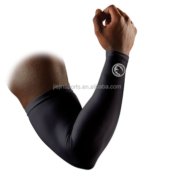 Cycling Sports Sublimated Custom Arm Sleeves Running Compression Sleeve