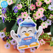 Free samples supply cheap wholesale hanging car perfume /air freshener paper