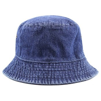 fc27695a399 High Quality Washed Cotton Denim Bucket Hat - Buy Bucket Hat ...