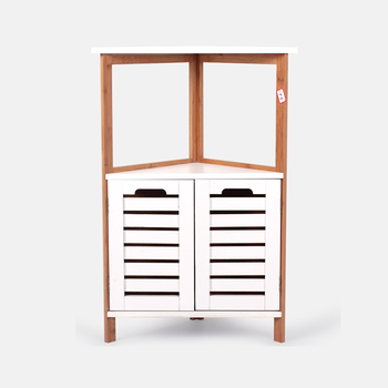 2019 New Arrival Modern Bamboo Wooden Bedroom Bathroom Furniture White  Storage Corner China Triangle Cabinet For Sale - Buy Bathroom Corner ...