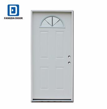 Fangda Fan Lite Glass Insert Exterior Glass Doorexterior Wood Door