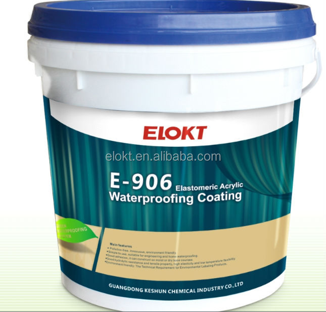 Roofing materials acrylic paint bitumen coating waterproof agent