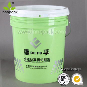 Chemical Resistant 5 Gallon Plastic Chemical Storage Container With