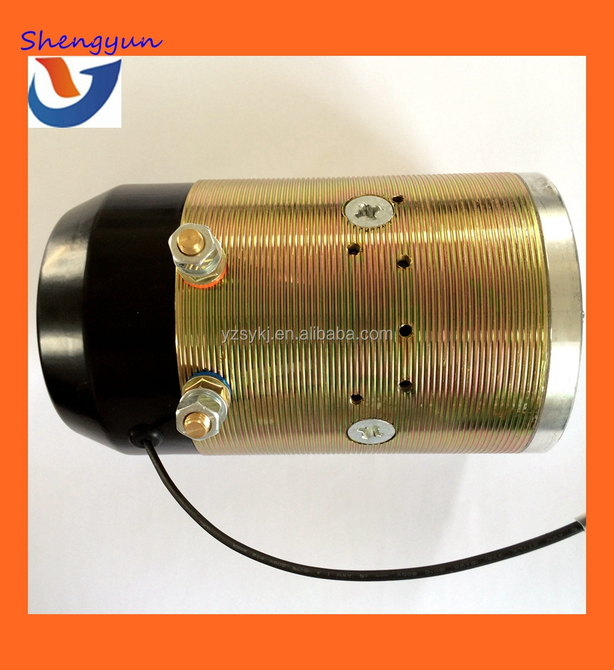 24V 3KW Hydraulic Power Pack Small Brush DC Motor
