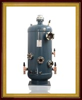 Screw Compressor external Oil Separator for refrigeration system