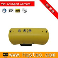 HD waterproof car recorder mini sports dv with 5.0 Mega Pixels