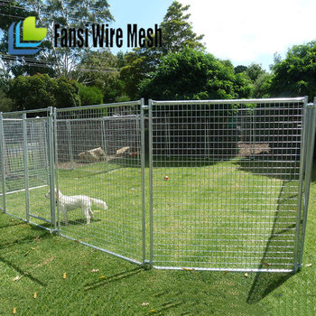 puppy playpen indoor outdoor cage dog play pen kennel crate metal wire fence