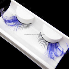 Halloween party costumes bulk individual false eyelash false eyelash for wholesale
