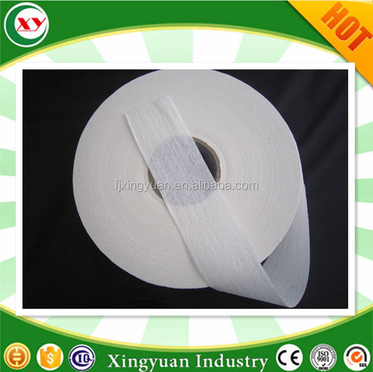 Roll of Tissue+SAP absorbent paper for ultrathin feminine hygiene napkin
