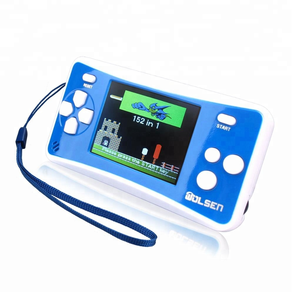 "2.5 ""LCD Display Mini Classical Player 휴대용 handheld TV game console wii u 게임 조이스틱 지은 in 152 games"