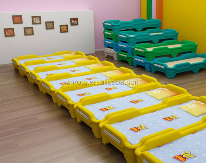 preschool stackable beds, HDPE/LLDPE rotational mould making.