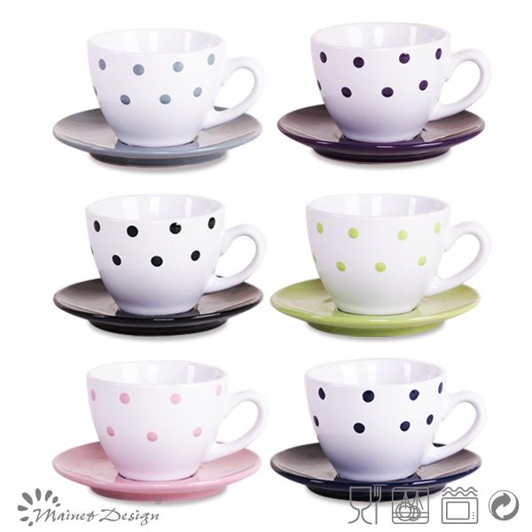 De cer mica tazas de caf espresso conjuntos de caf for Tazas para cafe espresso