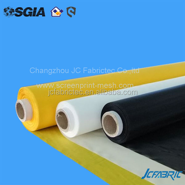 polyester screen printing mesh white yellow