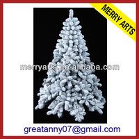 Kaemingk Imperial Pine Coloured Pre-Lit Artificial snowy Christmas Tree