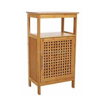 Natural Bamboo Bath Floor Cabinet