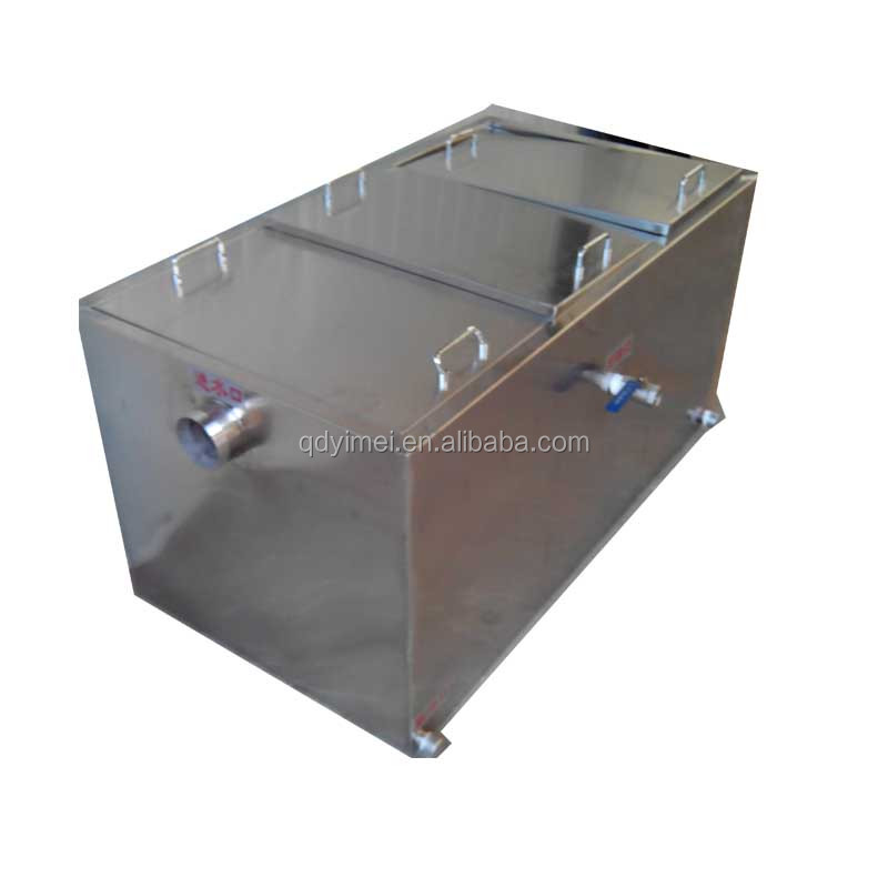 Hotel Kitchen Fat Oil Removal Grease Trap - Buy Hotel Kitchen Grease Fat  Intercepter,Kitchen Grease Fat Separator,Hotel Grease Removal Separator ...