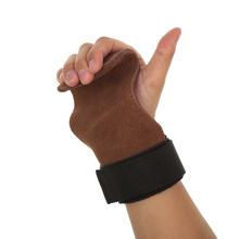 Lifting Grips PRO Weight Gloves Best Heavy Duty Straps to Power Hooks Deadlifts Adjustable Neoprene Padded Wrist Wrap