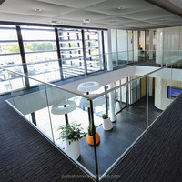 Balcony glass balustrade in USA standard with high review