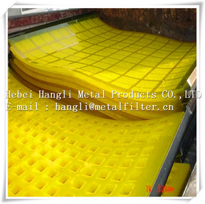 Polyurethane/PU mining screen mesh for vibrating sieving equipment factroy price
