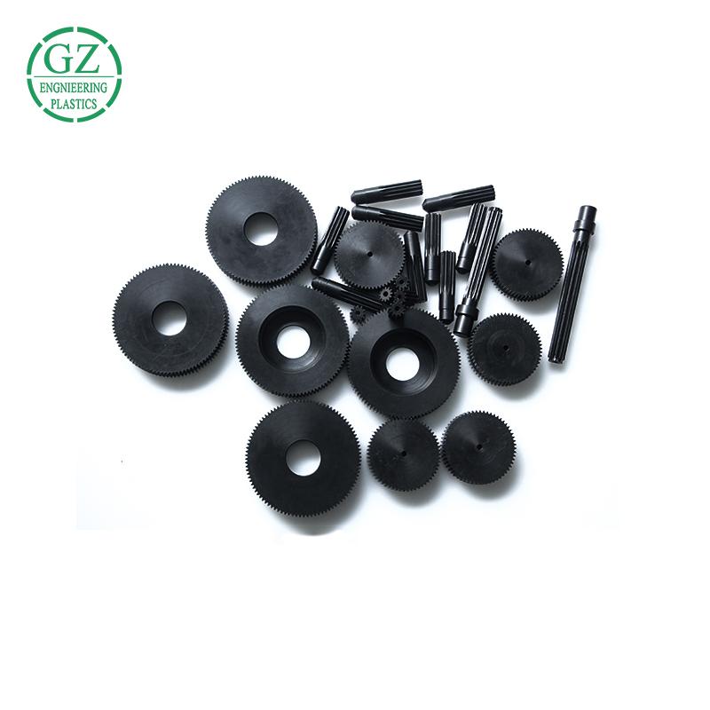 High quality plastic parts small differential pinion nylon gear pinion