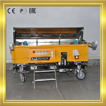 Professional Design For Automatic Wall Cement Plastering Machine China  Company