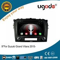 ugode Android 4.4 DVD Head Unit For Suzuki Grand Vitara 2016 With Cortex A9 1080P