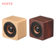 Q1 Portable Mini 3W Wireless Bluetooth Speaker Wooden HiFi Stereo Hands Free Column Bluetooth Speaker With AUX TF FM Radio
