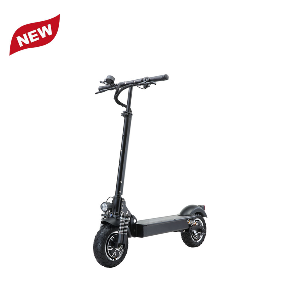 Yume 10inch Foldable Lightweight 52v 2000W Dual Motor Powerful Adult Foldable Electric Scooter, Black for mi electric scooter