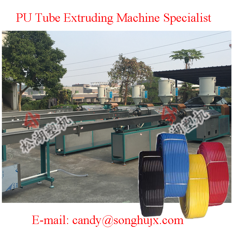 Customer Settings Design Pneumatic PU Tube Extrusion Line Supplier