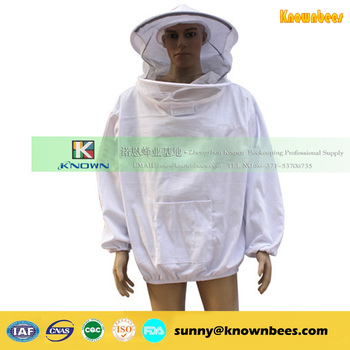 cotton bee suit / bee protective clothing / bee jackets from China supplier