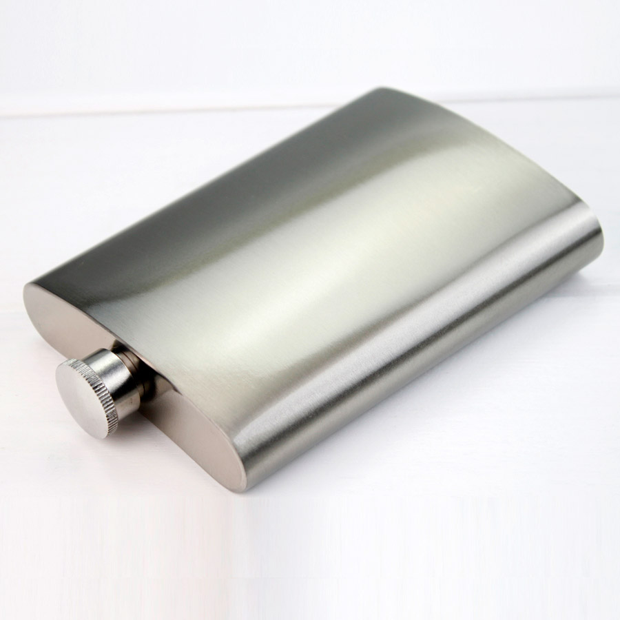 Sublimation stainless steel hip flask Capacity 8oz