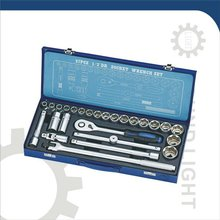 "27 PCS 1/2"" DR. SOCKET WRENCH SET"