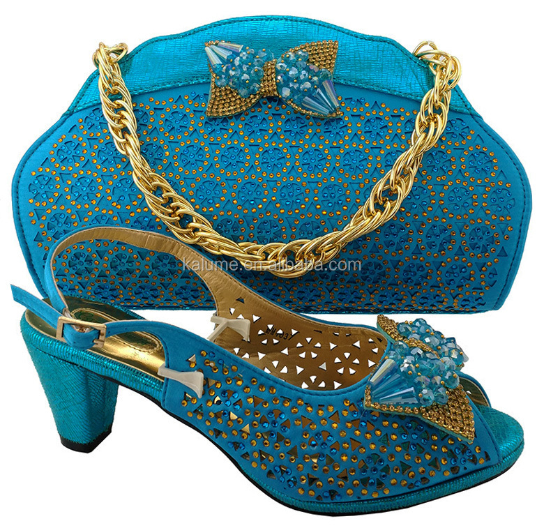 Women MM1037 5 Bags Matching Heels Factory Sandals Shoes Price Italian Blue 6 Leather And Color cm For WccnqZxaHF