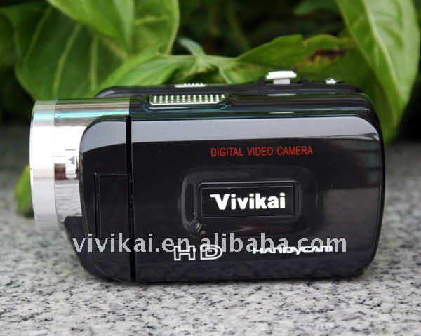 Professional HD digital camcorder with remote control,MP3 player and PC camera from vivikai OEM factory (HD-868)