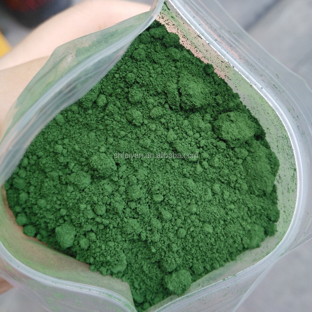 Inorganic chromium oxide green pigment Cr2O3 99% for floor