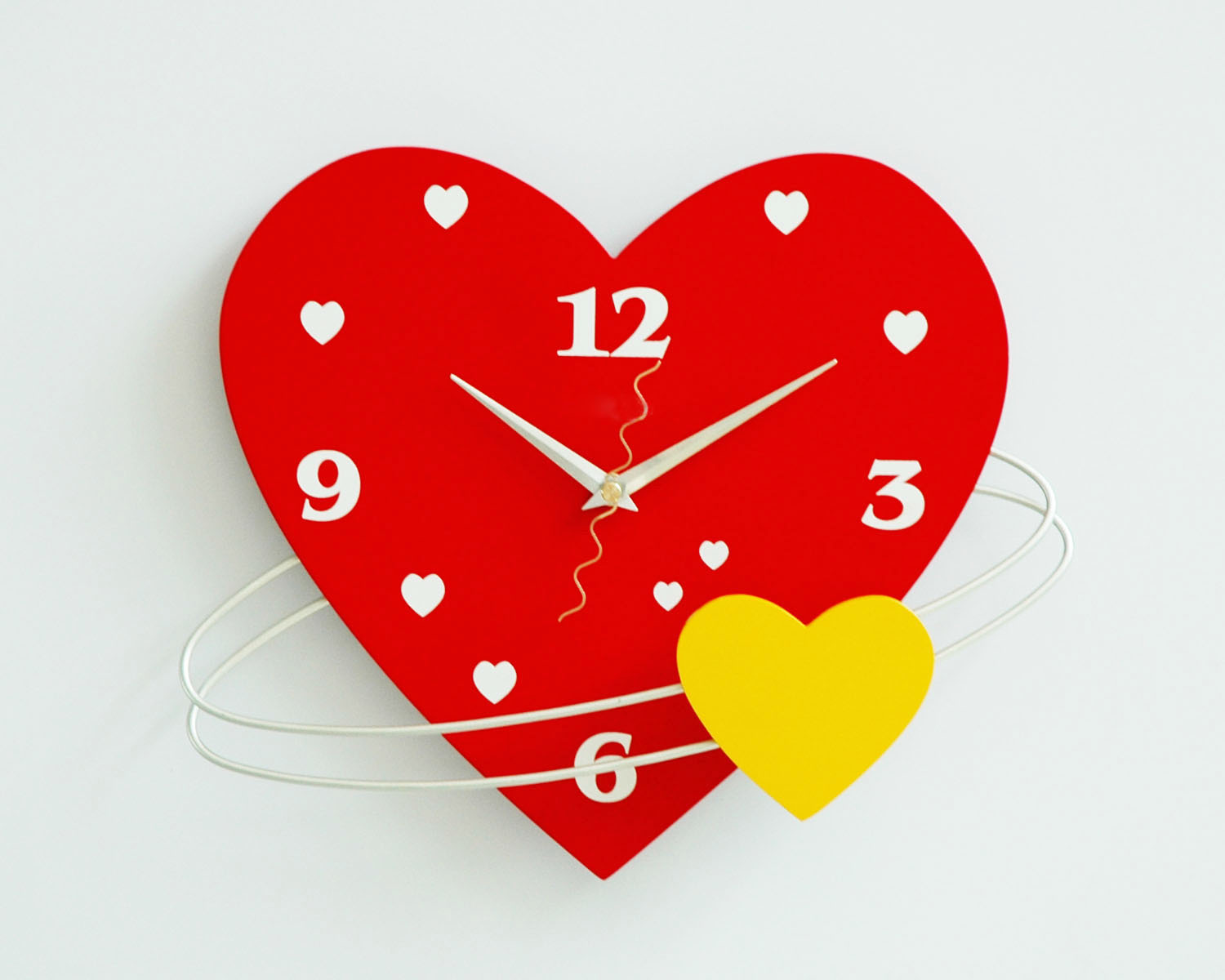 Mdf Heart Shape Wall Clock For Decorative Wholesale Buy Wall Clock