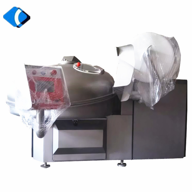 125L-530L Stainless Steel Sausage Meat Bowl Cutter Mixer Machine For Sale
