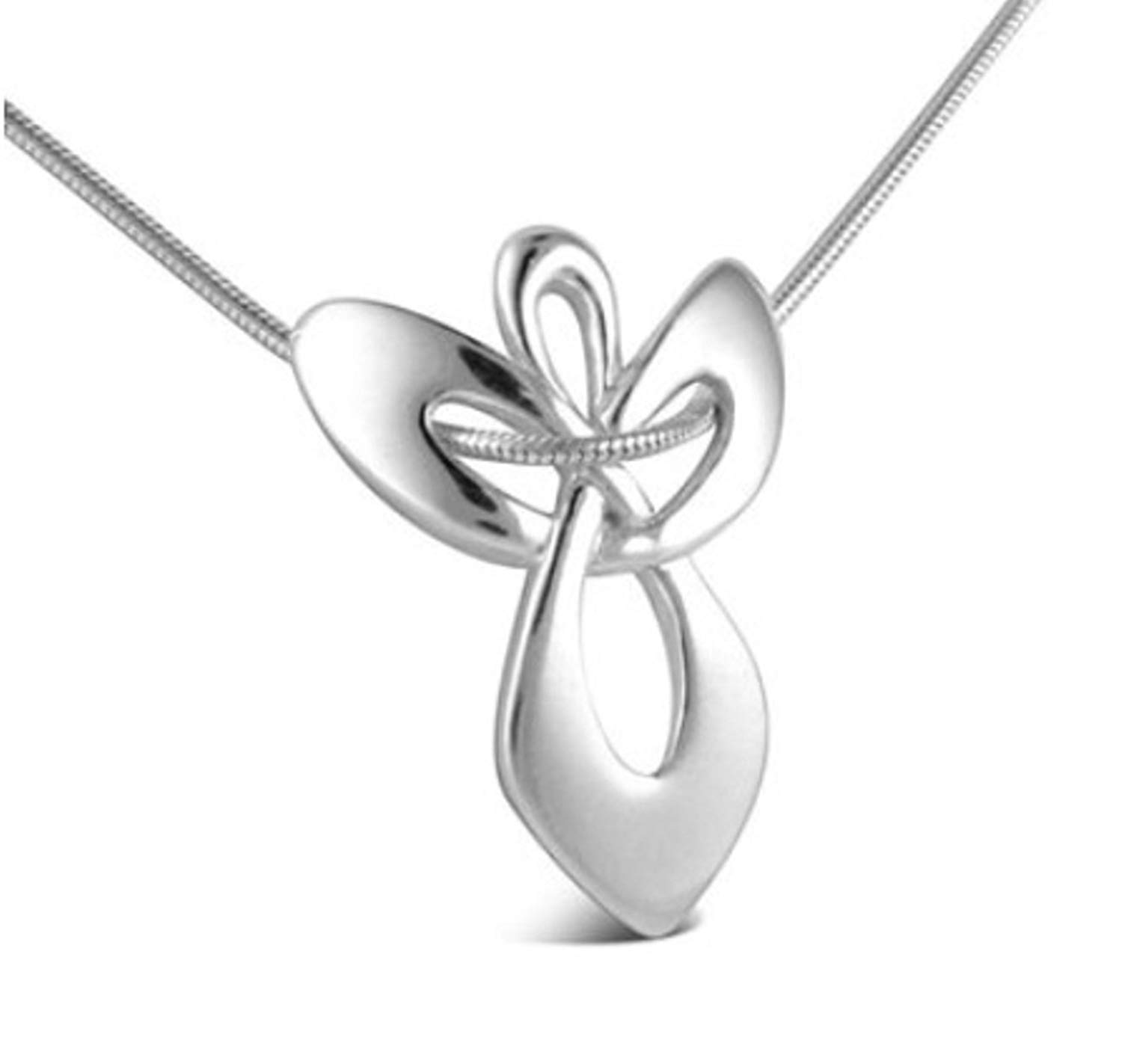 5d0b71bd9 Get Quotations · Guardian Angel Gift Pendant on Snake Chain Necklace