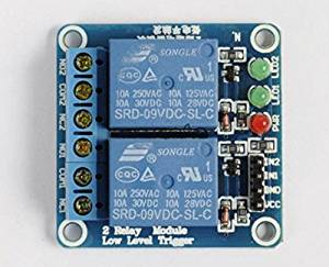 9V 2-Channel Relay Module Low Level Triger Relay shield for Arduino Raspberry pi