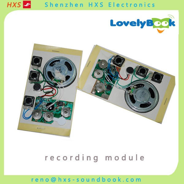 Good quality voice recording module for card
