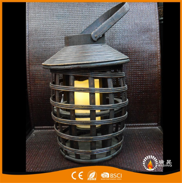 Candle Holder Lanterns special type bamboo Lanterns candlestick holder