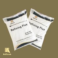 High purity aluminum welding refining agent powder in refractory