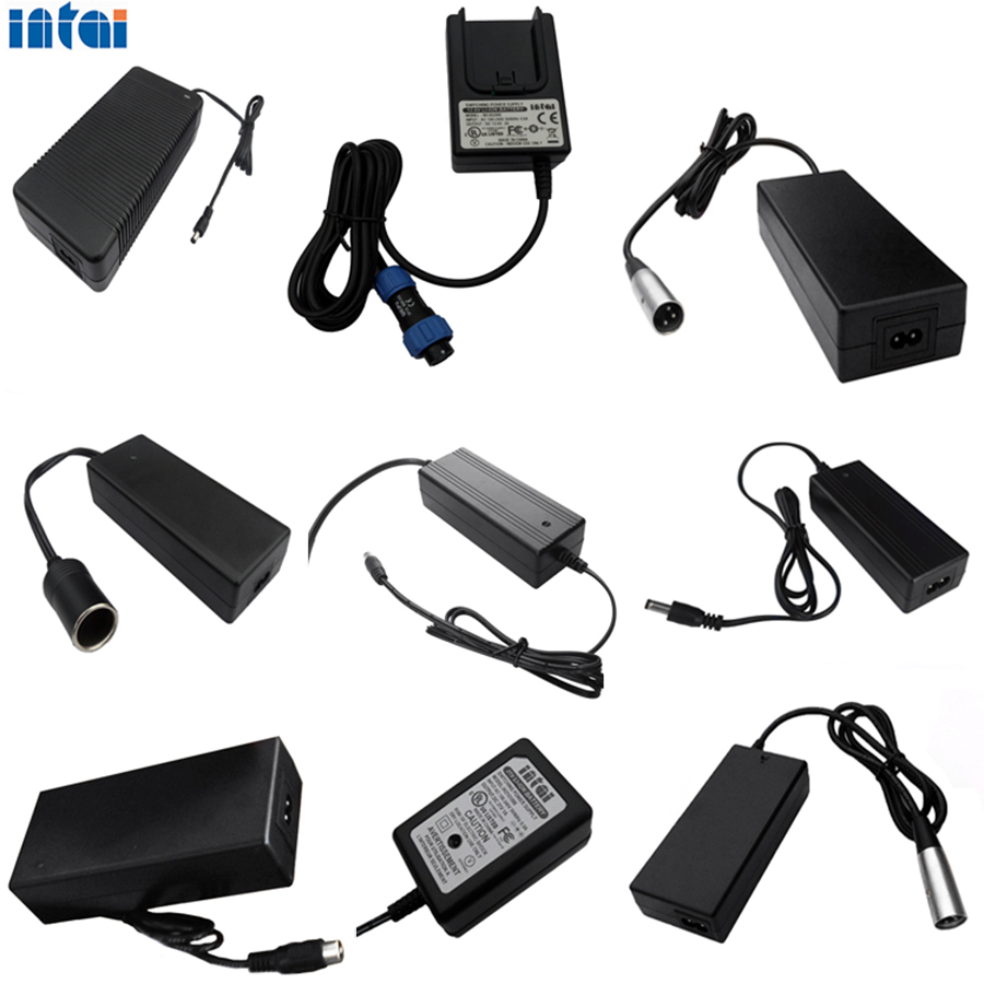 24v universal electronic lead acid car automatic battery charger for car / Golf cart / Forklift